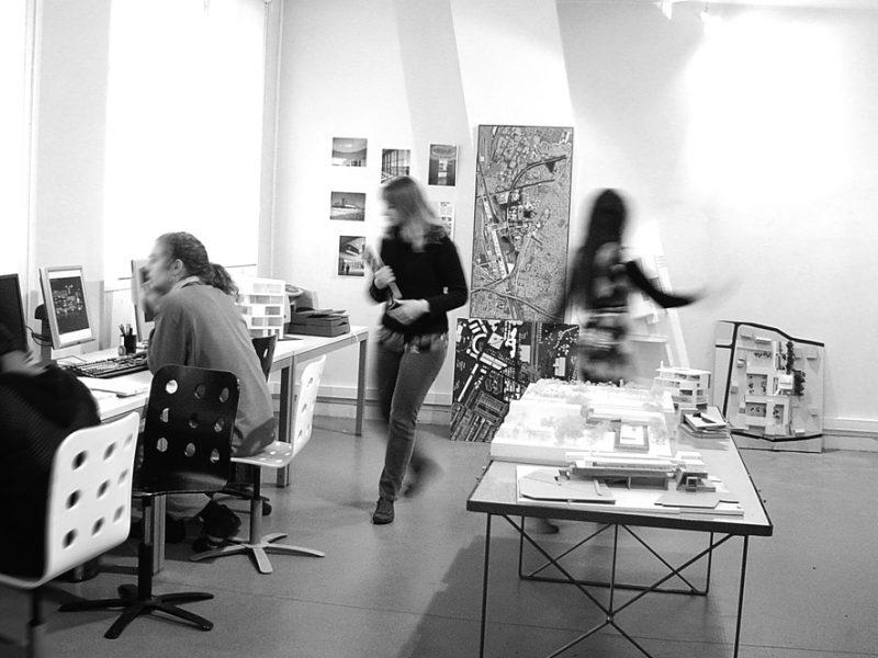 Vue d'atelier de Boudry & Boudry architectes